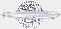 Zeppelinpost Arbeitsgemeinschaft Logo